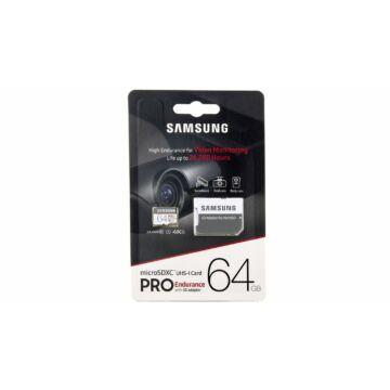 Samsung Pro Endurance 64GB Micro SDHC memóriakárya (100/30 MBps) - MB-MJ64GA/EU