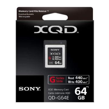 QDG64F.SYM SONY G Series 64GB XQD 400 MB/s memóriakártya