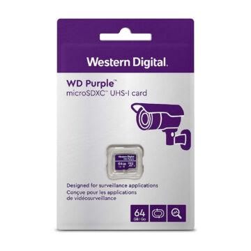 WDD064G1P0A WD 64GB Purple microSDXC UHS-I U1 [100MB/s]
