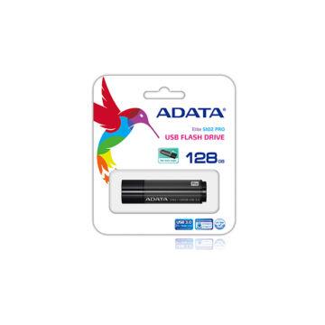 Adata S102 Pro Advanced 128GB Pendrive USB 3.0 - Aluminium (AS102P-128G-RGY) - AS102P_128G_RGY
