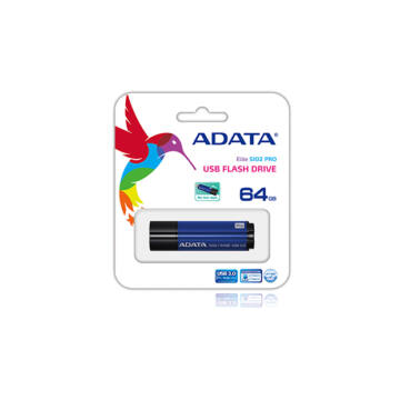 Adata S102 Pro Advanced 64GB Pendrive USB 3.0 - Kék (AS102P-64G-RBL) - AS102P_64G_RBL