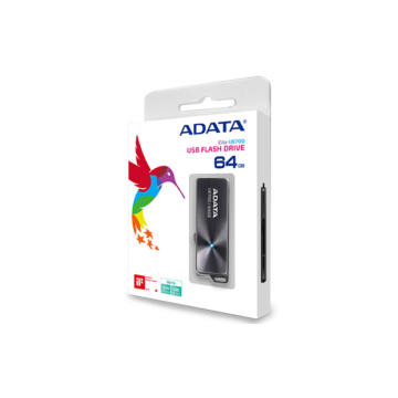 Adata UE700 Elite 64GB Pendrive USB 3.0 (AUE700-64G-CBK) - AUE700_64G_CBK