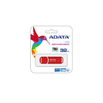 Adata UV150 Slim 32GB Pendrive USB 3.0 - Piros (AUV150-32G-RRD) - AUV150_32G_RRD