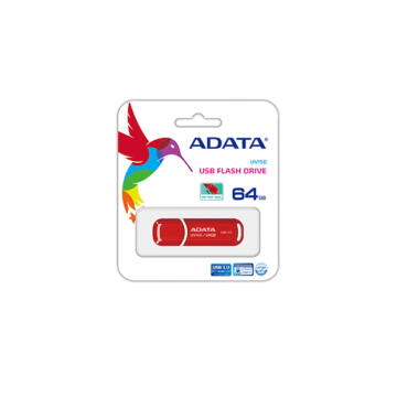 Adata UV150 Slim 64GB Pendrive USB 3.0 - Piros D2076 (AUV150-64G-RRD) - AUV150_64G_RRD