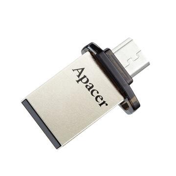 AP16GAH175B-1 Apacer 16GB AH175 OTG Pendrive [USB 3.1 + Micro USB]