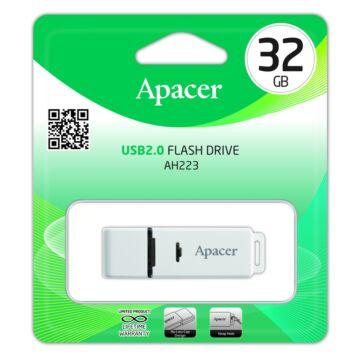 APACER AH223  PENDRIVE 32GB USB 2.0 Szürke
