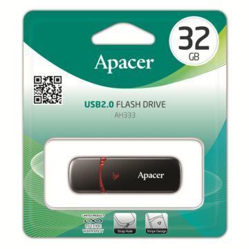 APACER AH333 PENDRIVE 32GB USB 2.0 Fekete