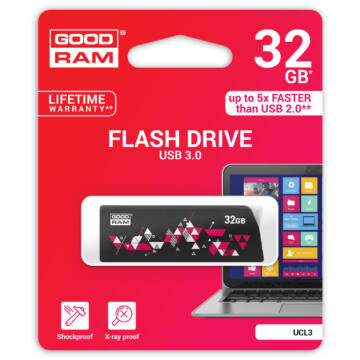 GOODRAM UCL3 PENDRIVE 32GB USB 3.0 Mintás