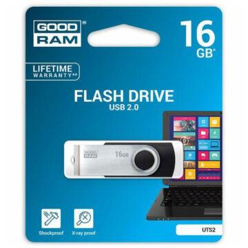 GOODRAM UTS2 PENDRIVE 16GB USB 2.0 Fekete