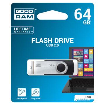 Goodram 64GB UTS2 USB 2.0 pendrive - fekete