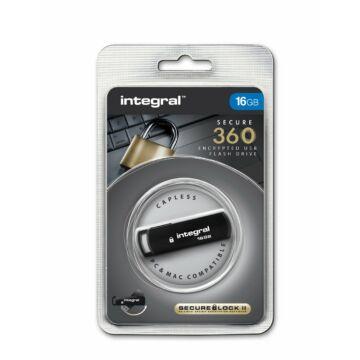 Integral 16GB Pendrive AES 256 Bit Titkosítással [USB 2.0]