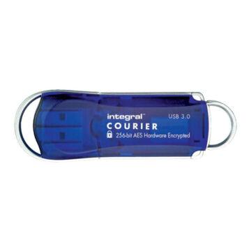 INFD8GCOU3.0-197 Integral 8GB COURIER USB 3.0 FIPS 197 AES 256-bites titkosítás - Kék