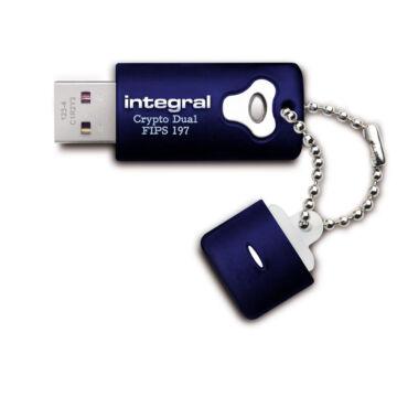 INFD8GCRYPTODL197 Integral 8GB Crypto Dual Titkosított Pendrive [USB 2.0]