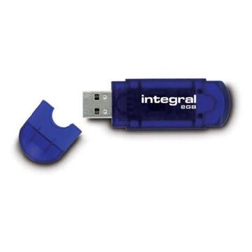 Integral 8GB EVO USB 2.0 pendrive - Kék INFD8GBEVOBL