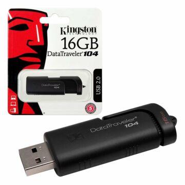 Termékek - Kingston DT104 16GB Pendrive [USB 2.0]