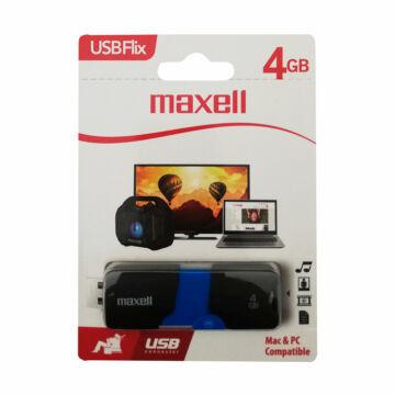 MAXELL PENDRIVE FLIX PENDRIVE 4GB USB 2.0 Fekete-Kék