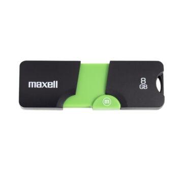 Maxell FLIX 8GB pendrive USB 2.0 Fekete-Zöld