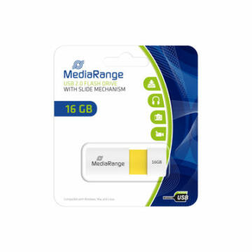 Mediarange 16GB Pendrive Color Edition USB 2.0 - MR972