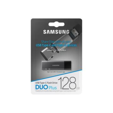 Samsung DUO Plus 128GB USB Type-C / USB 3.1 / OTG Pendrive (300Mb/s) - MUF-128DB/EU