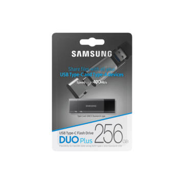 Samsung DUO Plus 256GB USB Type-C / USB 3.1 / OTG Pendrive (300Mb/s) - MUF-256DB/EU