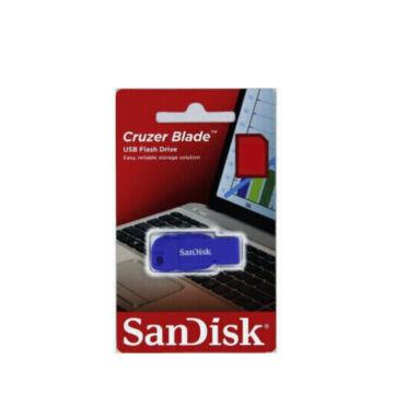 SANDISK CRUZER BLADE PENDRIVE 64GB USB 2.0 Kék