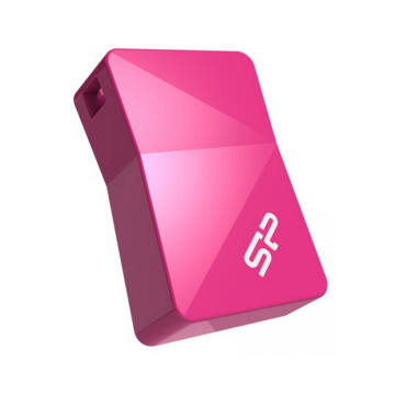 SP008GBUF2T08V1H Silicon Power 8GB Touch Pendrive T08 Mini [USB 2.0] Pink