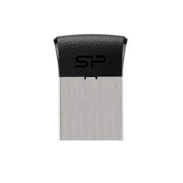 SP008GBUF2T35V1K Silicon Power 8GB Touch Pendrive T35 Mini [USB 2.0] Fekete