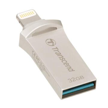 TS32GJDG500S Transcend 32GB JetDrive Go 500 [iOS Lightning / USB 3.1] Ezüst