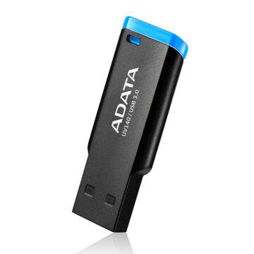 Adata UV140 64GB Pendrive USB 3.0 - Fekete / Kék (AUV140-64G-RBE) - AUV140_64G_RBE