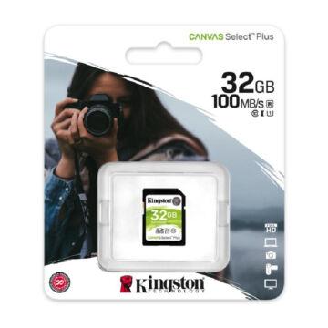 Kingston Canvas Select Plus (U1) 32GB SDXC V10 CL10  [100 MBps] SDS2/32GB