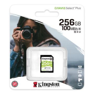 Kingston Canvas Select Plus (U3) 256GB SDXC V30 CL10  [100/85 MBps] SDS2/256GB