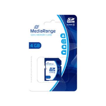MR961 MediaRange 4GB SDHC memóriakártya Cl10