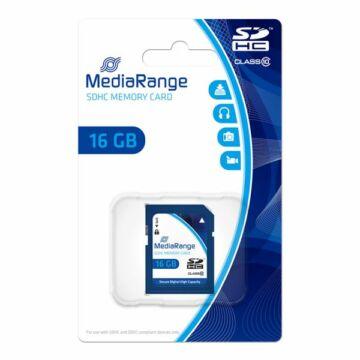 MR963 MediaRange 16GB SDHC memóriakártya Cl10