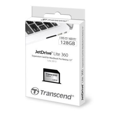 Transcend 128GB JetDrive Lite 360 [MacBook Pro Retina 15']  TS128GJDL360