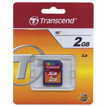 Transcend 2GB SD Memóriakártya Class 2 - TS2GSDC