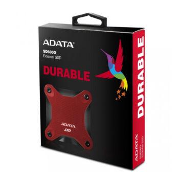 Adata 240GB Külső SSD SD600Q USB 3.1 Fekete