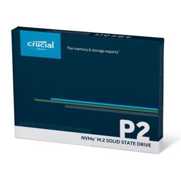 CRUCIAL Belső SSD 500GB P2 M.2 NVMe CT500P2SSD8