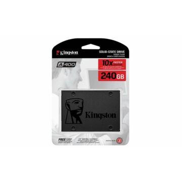 KINGSTON A400 Belső SSD 240GB SATA3 Fekete