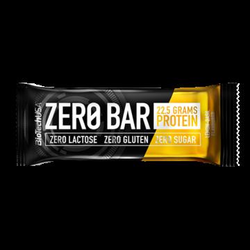 BioTech USA Zero Bar Fehérje Citromos-Bazsalikomos Ízben 50 g - VTBLB