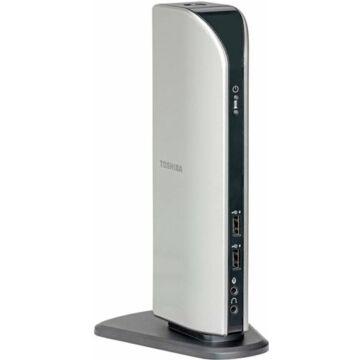Toshiba Dynadock USB 2.0 hub, dokkoló és port többszöröző VGA videóval - PA3541E-1PRP