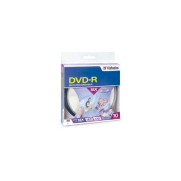Verbatim DVD-R 16x 4.7GB BOX/Cake (10) - 95100