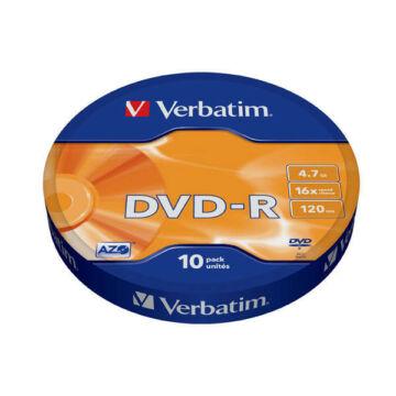 Verbatim DVD-R 16x 4.7GB SP (10) - 96248