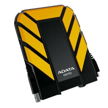 """Adata HD710 Pro 2TB HDD 2,5"""" IP68 Por, Víz És Ütésálló Külső Merevlemez, USB 3.1 Sárga - AHD710P-2TU31-CYL"""