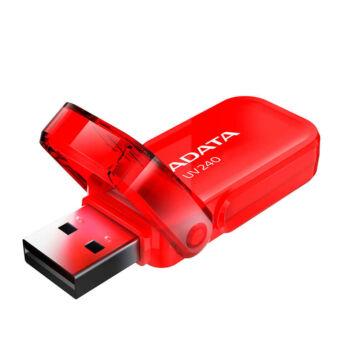 ADATA UV240 32GB Pendrive USB 2.0 - Piros - AUV240-32G-RRD