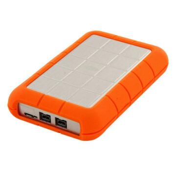 "LaCie Rugged Triple FW800 2TB 2.5"" külső merevlemez, USB3.0 - LAC9000448"