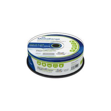 MediaRange DVD-R 16X Nyomtatható, vízálló lemez - Cake (25) - MRPL612