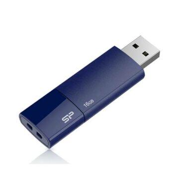 Silicon Power 16GB Ultima Pendrive U05 USB 2.0 Kék - SP016GBUF2U05V1D