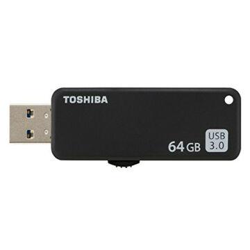 Toshiba 64GB Pendrive U365 USB 3.0 Fekete - THN-U365K0640E4