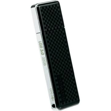 Transcend 32GB USB 3.0 Pendrive Jetflash 780 Fém Fekete - TS32GJF780