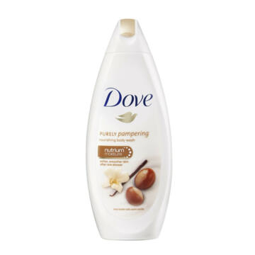 Dove Purely Pampering Tusfürdő Shea Vajjal És Vaníliával 250 ml - V941